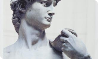 № 6. Michelangelo – David Busto